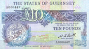 Guernsey 10 Pounds ND unc  115,00 EUR