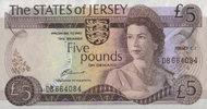 5 Pounds  Jersey Pick 12a unc  70,00 EUR  +  6,50 EUR shipping