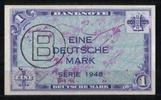 1 Mark 1948 Bank Deutscher Länder Ros.233 1-2  105,00 EUR  +  6,50 EUR shipping