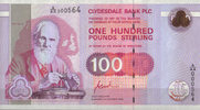 Scotland Clydesdale Bank PLC 100 Pounds 1996 unc  510.44 US$