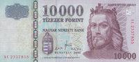 10.000 Forint  Ungarn Pick 200a unc  70,00 EUR