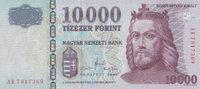 10.000 Forint  Ungarn Pick 200b unc  65,00 EUR  +  6,50 EUR shipping