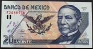 Mexiko 20 Pesos P. 106 b / Serie AC