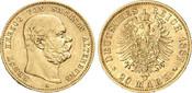 20 Mark 1887 Kaiserreich - Sachsen-Altenbu...