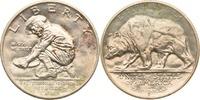 Half Dollar 1925 USA 75 Jahre Bundesstaat Kalifornien, Graubär vz-st  195,00 EUR  +  8,90 EUR shipping
