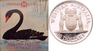 10 Dollars 1990 Australien Wappen von Western Australia PP  29,00 EUR  +  8,90 EUR shipping
