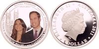 1 Dollar 2011 Australien Hochzeit von Prinz William und Catherine Middl... 99,00 EUR  +  8,90 EUR shipping