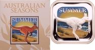 1 Dollar 2013 Australien Australische Jahreszeiten - Sommer PP, Farbdruck  59,00 EUR  +  8,90 EUR shipping