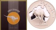 1 dollar 2000 Australien Känguru vor Landkarte PP  69,00 EUR  +  8,90 EUR shipping