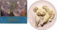1 Dollar 2010 Australien Koala st, vergoldet  98,00 EUR  +  8,90 EUR shipping