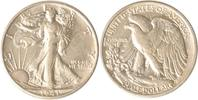 USA Half Dollar 1941 S vz/st USA, Half Dollar, 1941 S (San Francisco), W... 75,00 EUR incl. VAT., +  10,00 EUR shipping