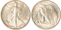 USA Half Dollar USA, Half Dollar, 1943, Walking Liberty, fast st