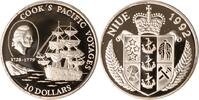 Niue 10 Dollars 1992 PP Niue, 10 Dollars, James Cook, 1992, PP 43,00 EUR +  10,00 EUR shipping
