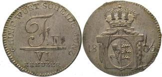6 Kreuzer 1805 Württemberg Friedrich II. 1...