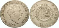 24 Kreuzer 1825 Württemberg Wilhelm I. 1816-1864. Vorzüglich +  475,00 EUR  +  5,00 EUR shipping