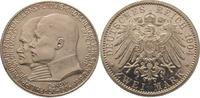 2 Mark 1904 Hessen Ernst Ludwig 1892-1918. Polierte Platte, Vorderseite... 275,00 EUR  Excl. 5,00 EUR Verzending