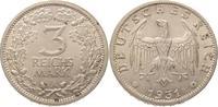 3 Mark 1931  A Weimarer Republik  Winz. Flecken, fast Stempelglanz  425,00 EUR  Excl. 5,00 EUR Verzending
