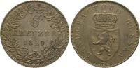 6 Kreuzer 1840 Hessen-Homburg Philipp 1839-1846. Vorzüglich  975,00 EUR  +  5,00 EUR shipping