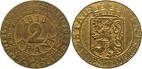 2 Franken 1918 Stadt Gent  Sehr selten. Vorzüglich +  475,00 EUR  +  5,00 EUR shipping
