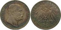 2 Mark 1901  A Sachsen-Altenburg Ernst 1853-1908. Schöne Patina. Vorzüg... 725,00 EUR  +  5,00 EUR shipping