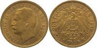 20 Mark Gold 1913  G Baden Friedrich II. 1907-1918. Vorzüglich +  475,00 EUR  Excl. 5,00 EUR Verzending