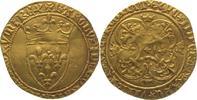 Ecu d'or à la couronne Gold 1380-1422 Frankreich Karl VI. 1380-1422. Se... 725,00 EUR  +  5,00 EUR shipping