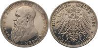 3 Mark 1908  D Sachsen-Meiningen Georg II. 1866-1914. Polierte Platte. ... 475,00 EUR  +  5,00 EUR shipping
