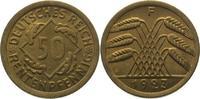 50 Rentenpfennig 1923  F Weimarer Republik  Fast Stempelglanz  275,00 EUR  +  5,00 EUR shipping