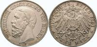 2 Mark 1901  G Baden Friedrich I. 1856-1907. Vorzüglich - Stempelglanz  750,00 EUR  Excl. 5,00 EUR Verzending