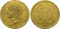 40 Lire Gold 1813 Italien-Neapel und Sizilien Joachim Murat, König von ... 1175,00 EUR  Excl. 5,00 EUR Verzending