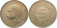Taler 1864 Nassau Adolph 1839-1866. Winz. Druckstelle, vorzüglich +  240,00 EUR