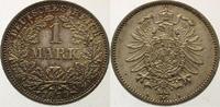 1 Mark 1877  A Kleinmünzen  Selten in dieser Erhaltung. Winz. Kratzer a... 675,00 EUR  Excl. 5,00 EUR Verzending