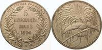 5 Mark 1894  A Neuguinea  Vorzüglich - Stempelglanz  2950,00 EUR  +  5,00 EUR shipping