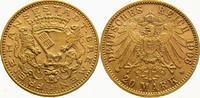 20 Mark Gold 1906  J Bremen  Vorzüglich - Stempelglanz  2950,00 EUR