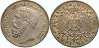 2 Mark 1894  G Baden Friedrich I. 1856-1907. Vorzüglich +  975,00 EUR  Excl. 5,00 EUR Verzending