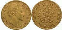 20 Mark Gold 1878  D Bayern Ludwig II. 1864-1886. Seltener Jahrgang. Se... 975,00 EUR  Excl. 5,00 EUR Verzending