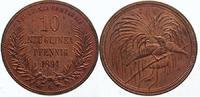 10 Pfennig 1894  A Neuguinea  Vorzüglich - Stempelglanz  295,00 EUR  Excl. 5,00 EUR Verzending
