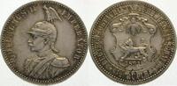 1/2 Rupie 1891 Deutsch Ostafrika  Prachtexemplar. Fast Stempelglanz  285,00 EUR  Excl. 5,00 EUR Verzending