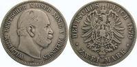 2 Mark 1879  A Preußen Wilhelm I. 1861-1888. Schön - sehr schön  275,00 EUR  Excl. 5,00 EUR Verzending