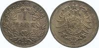 1 Mark 1874  C Kleinmünzen  Schöne Patina. Fast Stempelglanz  320,00 EUR  Excl. 5,00 EUR Verzending