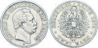 2 Mark 1876  H Hessen Ludwig III. 1848-1877. Sehr schön  475,00 EUR