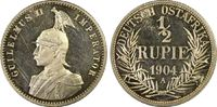 PCGS certified 1/2 Rupie 1904  A Deutsch Ostafrika  Polierte Platte. Fa... 975,00 EUR