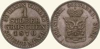 Silbergroschen 1870  A Schwarzburg-Sondershausen Günther Friedrich Karl... 45,00 EUR