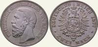2 Mark 1877  G Baden Friedrich I. 1856-1907. Sehr schön - vorzüglich  350,00 EUR  Excl. 5,00 EUR Verzending