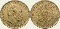 20 Mark Gold 1875  A Preußen Wilhelm I. 1861-1888. Vorzüglich - Stempel... 528.22 US$  +  11.12 US$ shipping