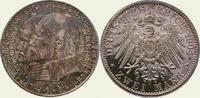 2 Mark 1904 Hessen Ernst Ludwig 1892-1918. Polierte Platte, Vorderseite... 389.22 US$  +  11.12 US$ shipping