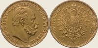 20 Mark Gold 1872  A Preußen Wilhelm I. 1861-1888. Vorzüglich  395.70 US$  +  11.31 US$ shipping