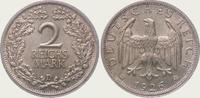 2 Mark 1926  D Weimarer Republik  Fast Stempelglanz  61.06 US$  +  11.10 US$ shipping