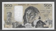 500 FRANCS 22.01.1987 FRANCE Alphabet S.258 Presque NEUF  85,00 EUR  +  7,00 EUR shipping