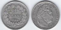1 FRANC 1844 B(ROUEN) FRANCE LOUIS-PHILIPPE 1er TTB(rayures)  380,00 EUR  +  7,00 EUR shipping